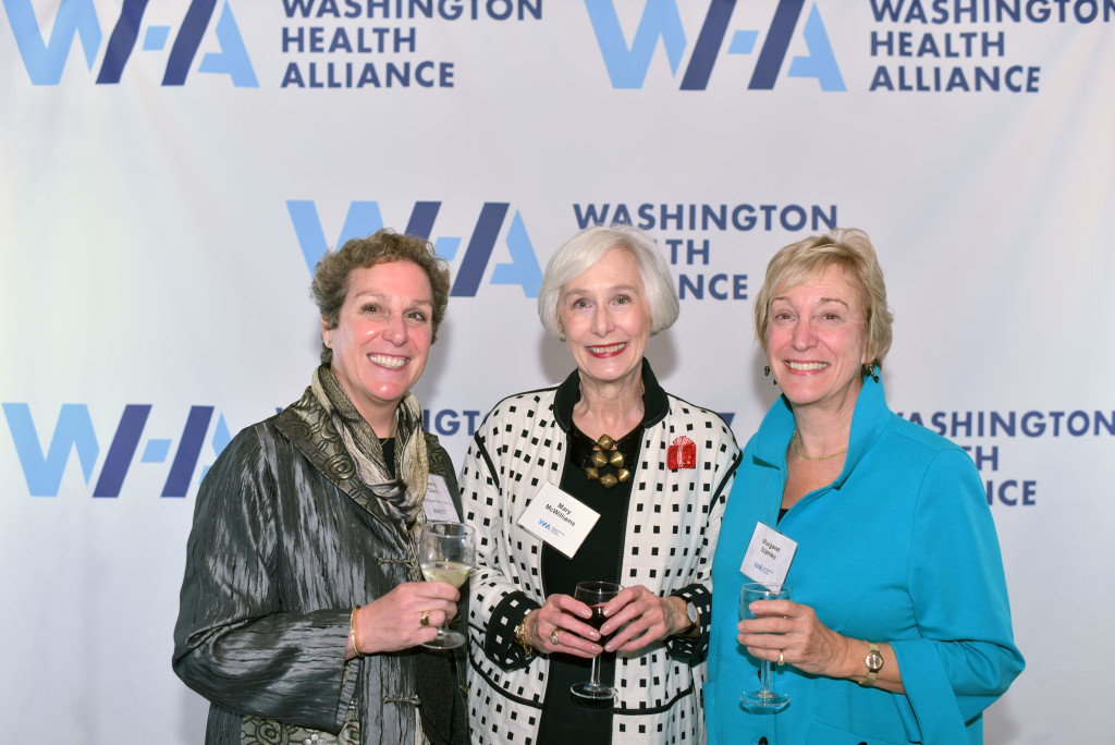 Left to right: Nancy Giunto, Mary McWilliams, Margaret Stanley